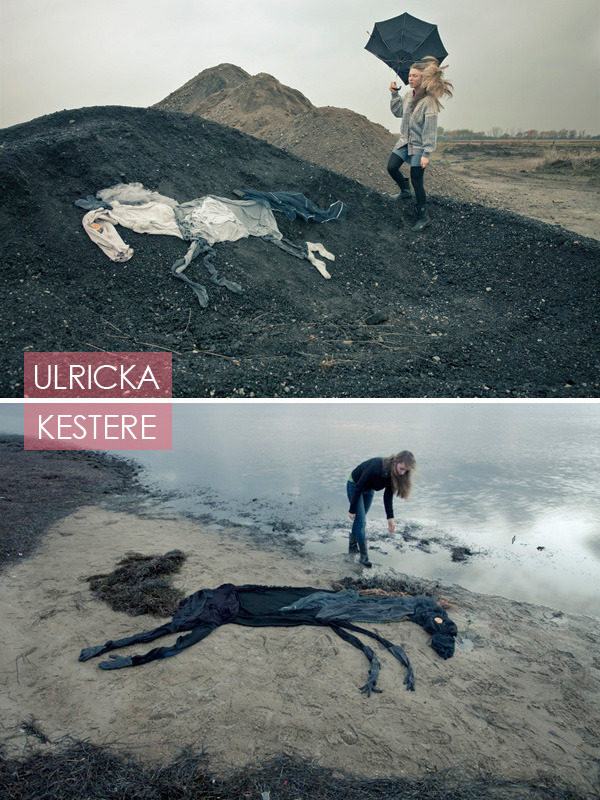 The Girl with 7 Horses by Ulrika Kestere — incredibly beautiful and haunting. Make sure to check out her blog for more photos and drawings….and to see the other 5 horses, of course.