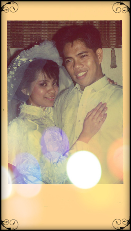celebrated their 20th wedding anniversary last January 18 photo circa 1992