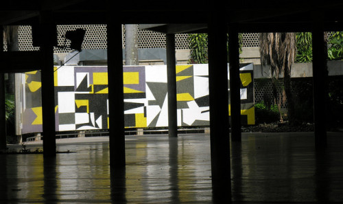 Mural UCV by Elyka on Flickr.A través de Flickr: Plaza Cubierta, Universidad Central de venezuela. Caracas, Venezuela.
