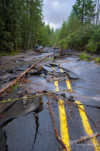 Lolo Pass Road Flood Damage by Gary Randall on Flickr.