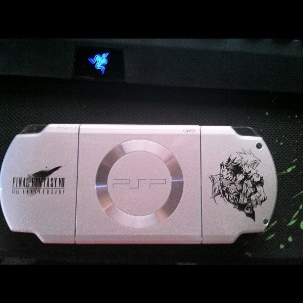 My FFVII PSP (Taken with instagram)