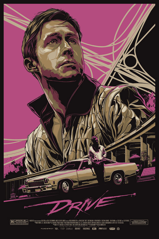 Fucking MONDO can do no wrong! Check out this stunning DRIVE poster by Ken Taylor. This goes on sale online this Thursday and if you buy me a copy I will french kiss you.