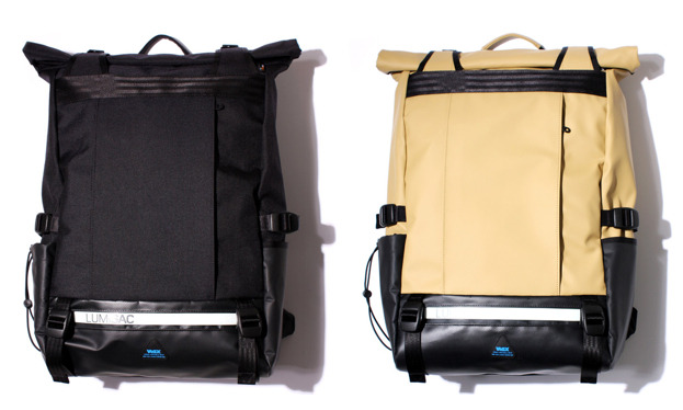 Impressive looking cyclists bags by VAGX.