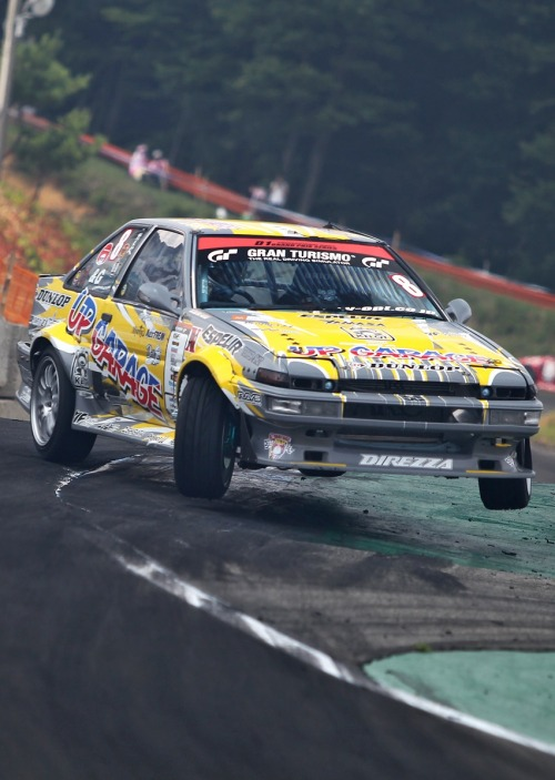 forgottenbytomorrow:  Airborne AE86!