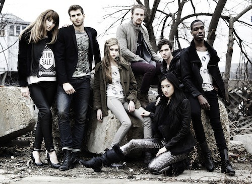 Check out the amazing mock AllSaints campaign Adam created for his photography final back in November! He used some of our coworkers and shot at a few locations around the city!