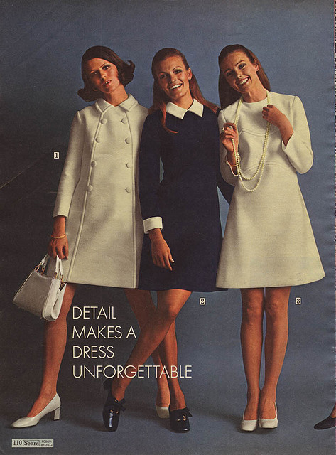fuckyeah60sfashion:  Sears catalogue from 1969.