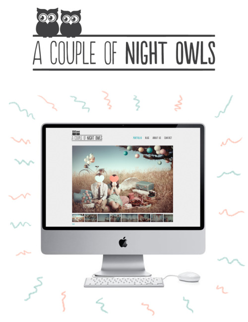 Owls, photography, and design? Adorable! =) Check out the awesome photography they have up so far!sweepmeup:  Hook and I have joined forces. We are A Couple Of Night Owls! So freaking stoked. :D Please check out our website: acoupleofnightowls.com And I also blogged about it here!