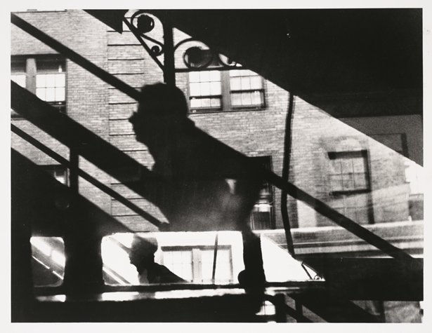 Louis Faurer,  Win, Place and Show, 3rd Ave El, New York, New York, 1947, printed 1981; photograph; gelatin silver print, 11 in. x 14 in. (27.94 cm x 35.56 cm); Collection SFMOMA, Gift of Dan and Jeanne Fauci; © Estate of Louis Faurer Source: http://www.sfmoma.org/explore/collection/artwork/129257##ixzz1l78NkXbn San Francisco Museum of Modern Art
