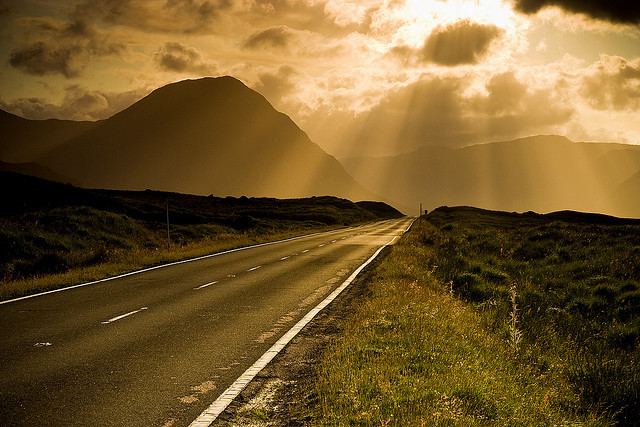 Scotland - The road to Glencoe by Mathieu Noel on Flickr.