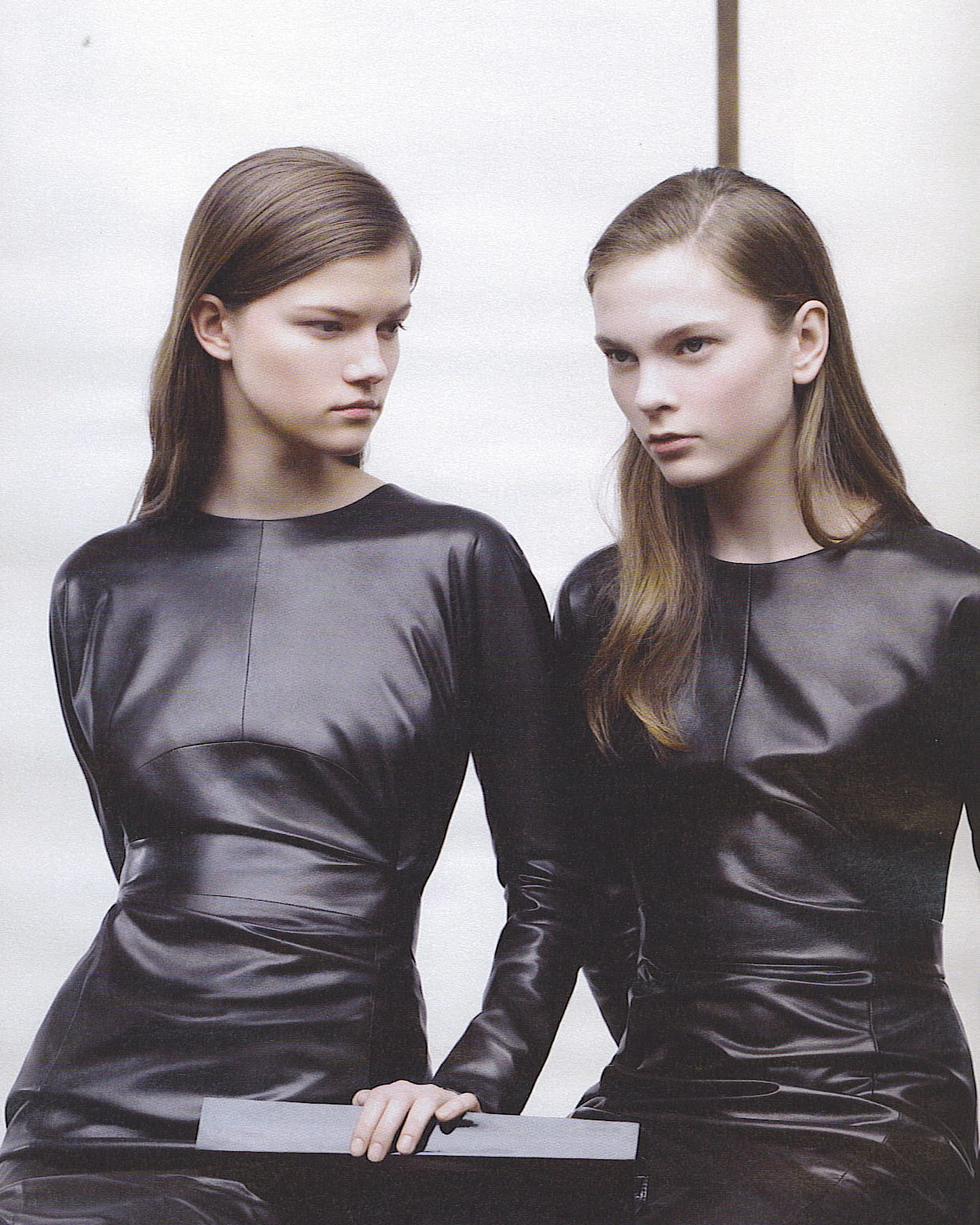 Kasia Struss and Irina Kulikova by Willy Vanderperre for Jil Sander F/W 2007 Campaign