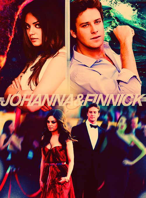 Fancast ⇉ Armie Hammer as Finnick Odair and Mila Kunis as Johanna Mason.  I never do fancasts, but that red carpet picture is too perfect! Requested by the lovely Robin.