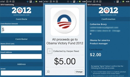 Obama, Romney Election Campaigns To Use Square In Fundraising Efforts