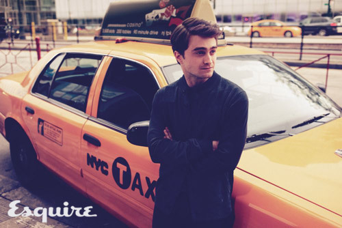 New Daniel Radclife Short List, Esquire UK magazine photo shoots