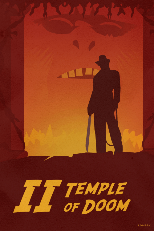 Today, a Indiana Jones and the Temple of DoOOOOOoM Poster!