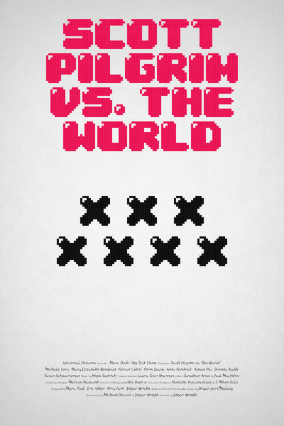 Scott Pilgrim vs. The World by Martin Lucas