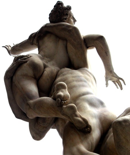 modernhepburn:  The Rape of the Sabine Women