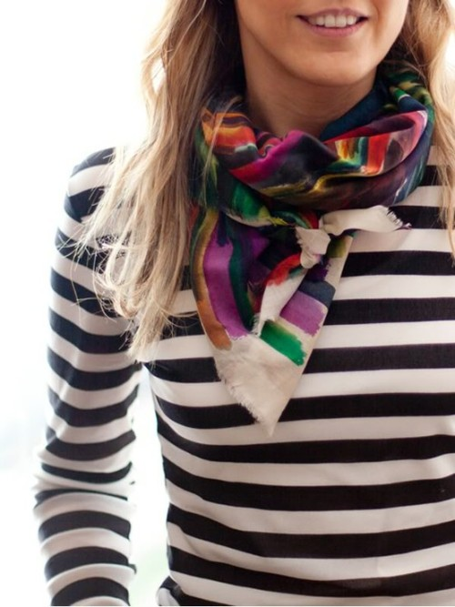 scarfs and stripes