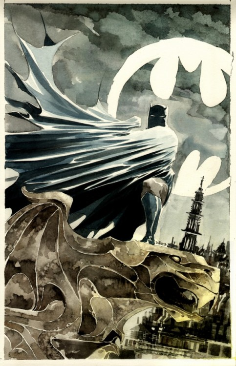 fer1972:  Batman by Dustin Nguyen