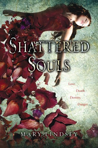 BOOK OF THE DAY: Shattered Souls by Mary Lindsey  Lenzi hears voices and has visions - gravestones, floods, a boy with steel gray eyes. Her boyfriend, Zak, can't help, and everything keeps getting louder and more intense. Then Lenzi meets Alden, the boy from her dreams, who reveals that she's a reincarnated Speaker - someone who can talk to and help lost souls - and that he has been her Protector for centuries. Now Lenzi must choose between her life with Zak and the life she is destined to lead with Alden. But time is running out: a malevolent spirit is out to destroy Lenzi, and he will kill her if she doesn't make a decision soon.