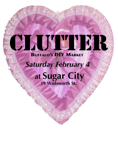 This Saturday: Clutter.