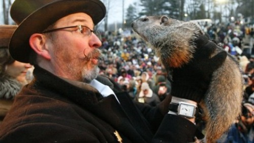 6 things most people don't know about Groundhog DayDid you know that Germans started asking the groundhog about spring as an excuse to drink, eat and be merry?