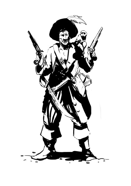 Pirate Sketch #1 (don't phone in, it's just for fun)
