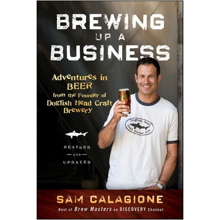 Brewing Up A Business by Sam Calagione A Few Facts about Dogfish Head & the founder Sam Calagione that I learned while reading this great book: The founder Sam designed the Dogfish Head logo Sam's wife Mariah runs the Social Networking side of the business Sam designed (carved) the original fish-shaped tap pulls that you see replicas of at bars today Dogfish Head made 30 different beers in their first year When Sam decided to open he opened as a Brew Pub not a Brewery so they could fall back on the food sales if the beer wasn't a hit … the beer was a hit by the way