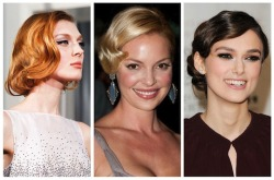 Chalk it up to the Oscar countdown, but classic coiffure is making a comeback.