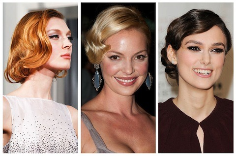 officialstyledotcom:Chalk it up to the Oscar countdown, but classic coiffure is making a comeback.