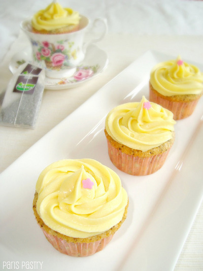 Earl Grey Cupcakes by DolceDanielle on Flickr.