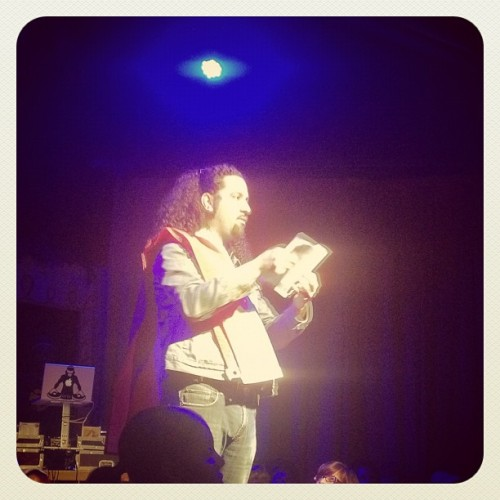 last night @ Da Poetry Lounge. (freshness) (Taken with instagram)