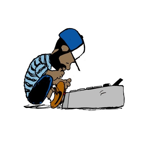 mtvhive:  j dilla meets peanuts, in honor of the producers's birthday and passing in February