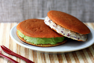 Ice Cream Dorayaki by wenday :D on Flickr.