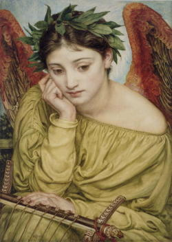 """Lovers""     "" Erato Muse of Poetry (c. 1870)   ""   by Edward John Poynter    Courtesy of:    Ginger-ninja"