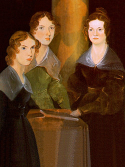 "laphamsquarterly:  ""Branwell—Emily—Anne are gone like dreams—gone as Maria and Elizabeth went twenty years ago. One by one I have watched them fall asleep on my arm—and closed their glazed eyes—I have seen them buried one by one—and—thus far—God has upheld me."" —Charlotte Brontë lost her last sibling at the age of thirty-three in 1849"