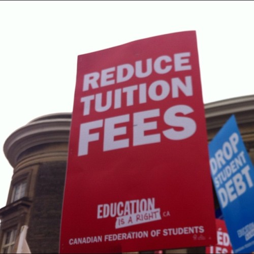 lapetitecadeau:  Education is a right. #february1 (Taken with instagram)