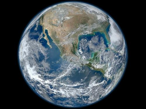 Blue Marble 2012 by NASA 40 Years After Moon Mission Made it Famous, NASA Recreates Iconic Picture of Earth – Blue Marble 2012