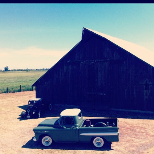 CHEVY RUNS DEEP #chevy #ratrod #rockabilly #vintage #retro #iphone4 #iphoneography #instadaily (Taken with instagram)