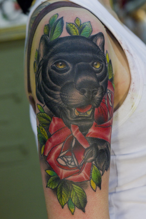 Done by Lenny Lenert, Origin Tattoo