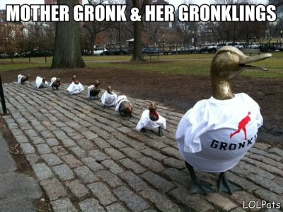 lolpats:  MOTHER GRONK & HER GRONKLINGS