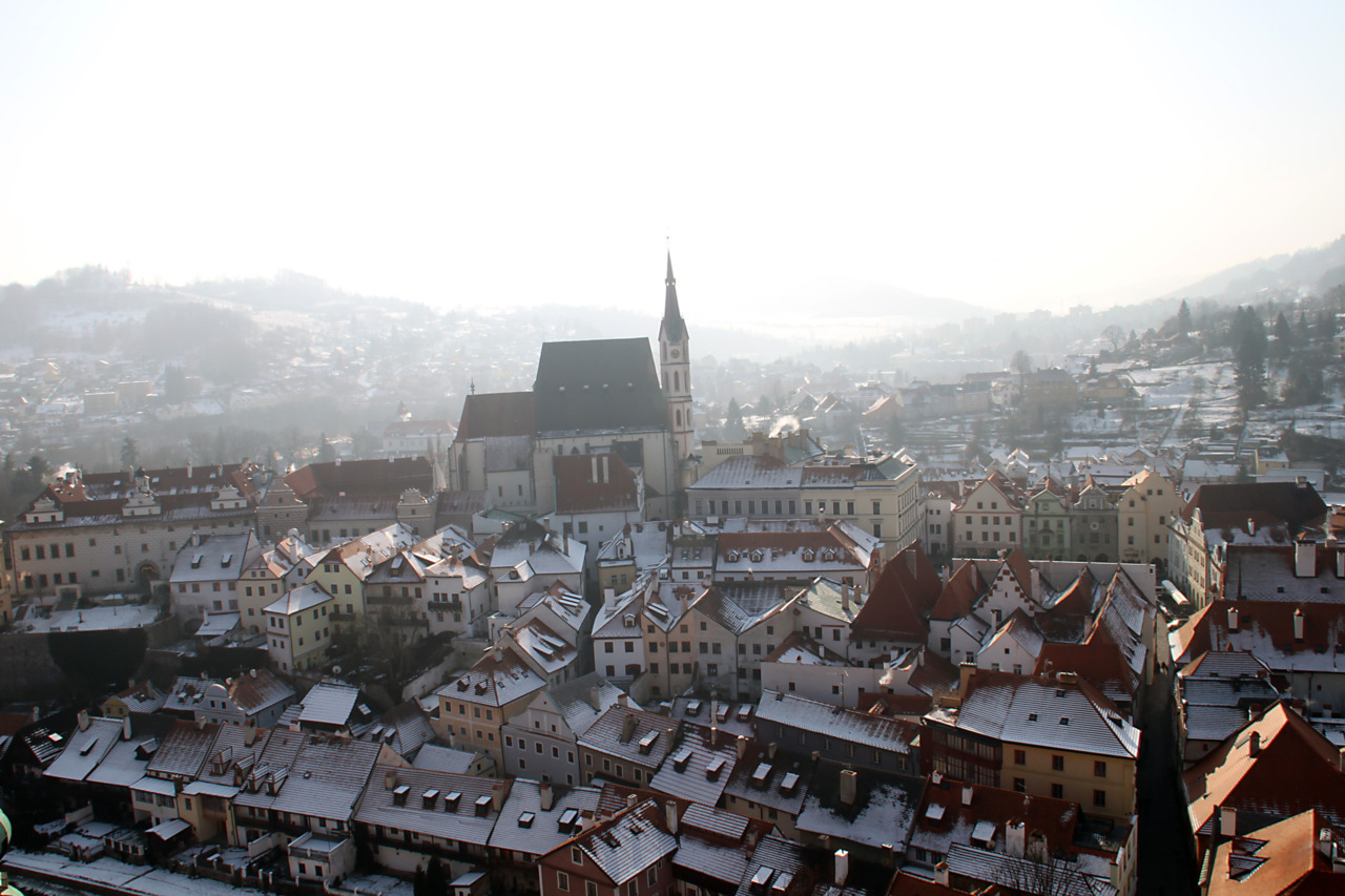 | ♕ |  Cesky Krumlov in all it's Entirety - Bohemia, Czech Republic  photo taken/posted by © xorunaways