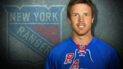 Brad Richards #91 of the New York Rangers