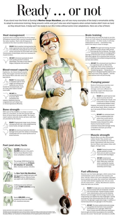 tumblrgym:  Things to think about before running your marathon or half marathon