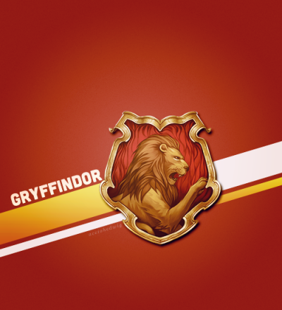 Gryffindor for life!!