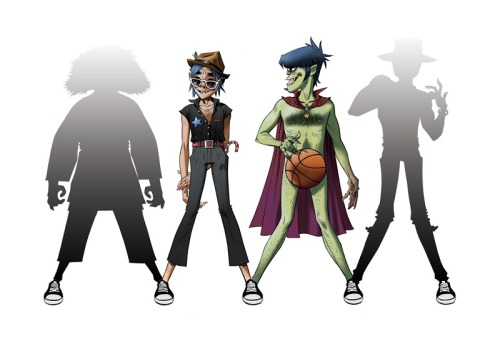 Gorillaz x Converse promo pic [click here for full version]