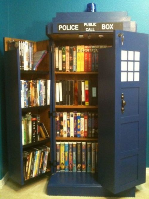 backrowheckling:  How do you make a blue police box that can take you anywhere in time and space?