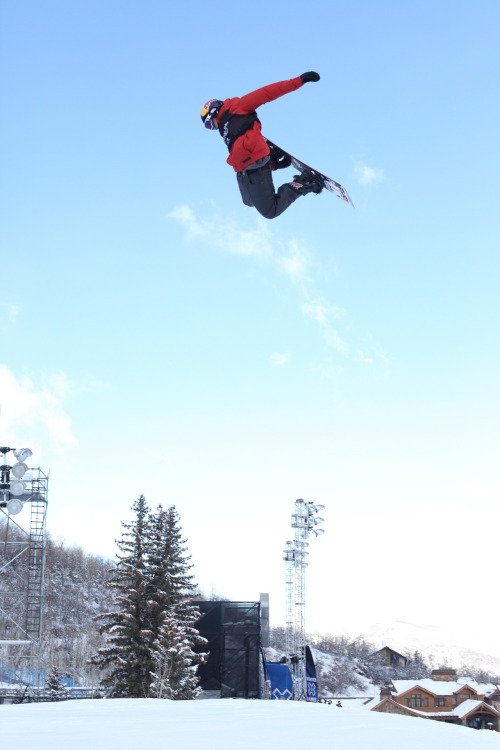 Mark McMorris, triple cork landed and two golds. That's got to feel good!