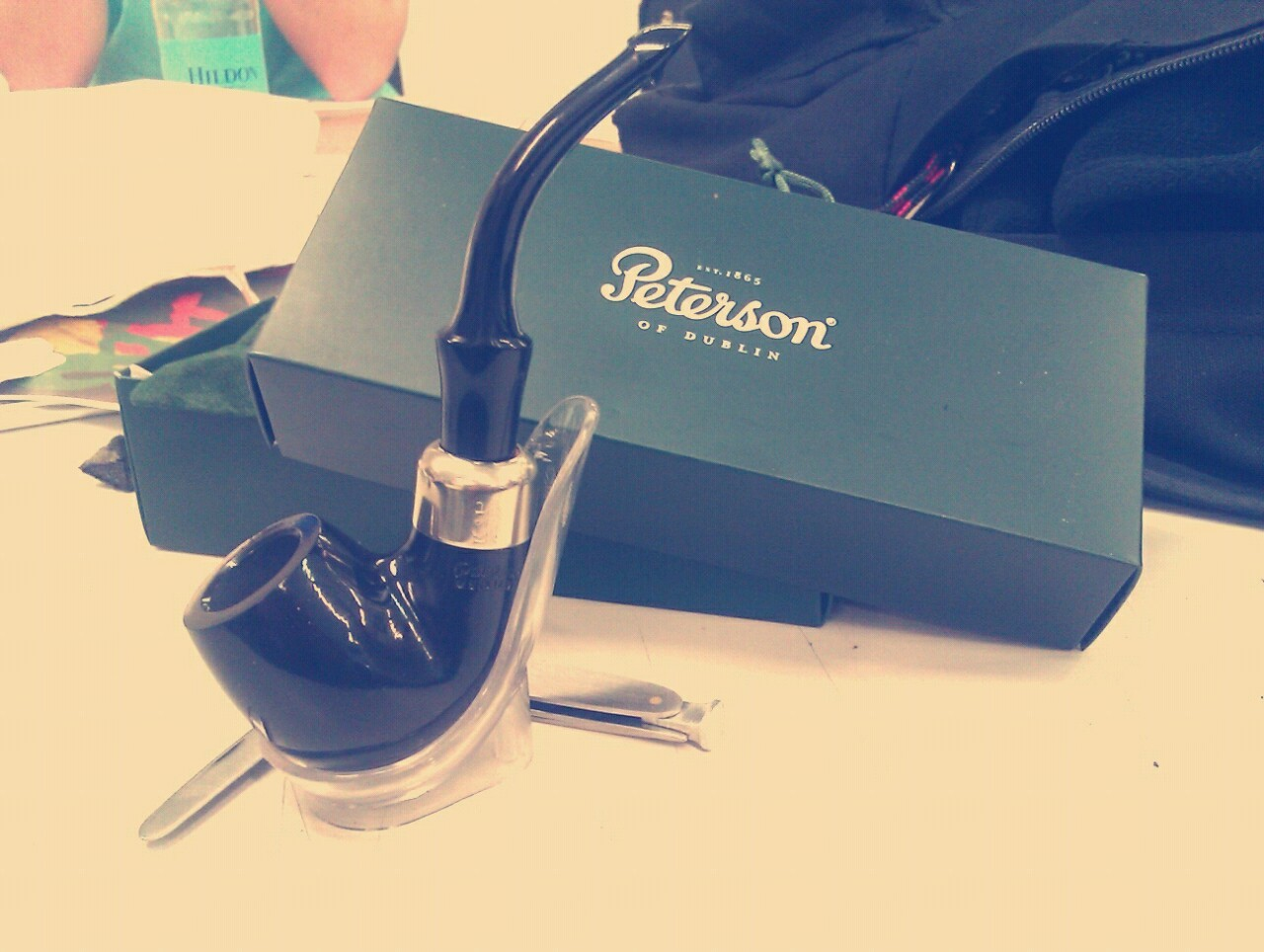 sammbear92:  My new Peterson.  She's beautiful. Is that a p-lip I see?