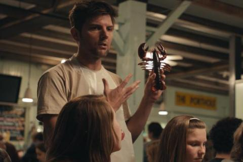 Umm, y'all, there's an Adam Scott movie on the SxSW schedule as well. [SxSW: See Girl Run]