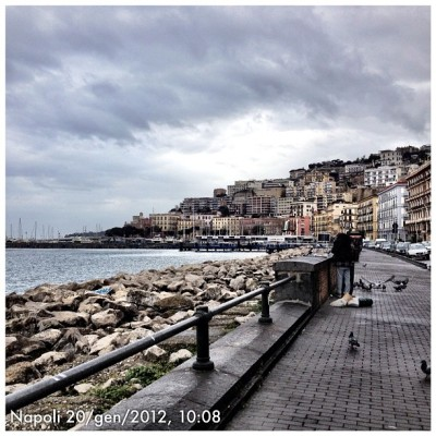 Napoli #instagram #igers #igersnapoli #instafamous #flickr #pontix #px  #stockphoto3 #ponticelli #picoftheday #bestpic  #picstagram #webstagram #napoli #panorama #landscape #iphoneonly #ig #instahub #instadaily #instagramhub #igers #ignation #iphonesia #theitalianway #naples (Taken with Instagram at Scogli di Mergellina)